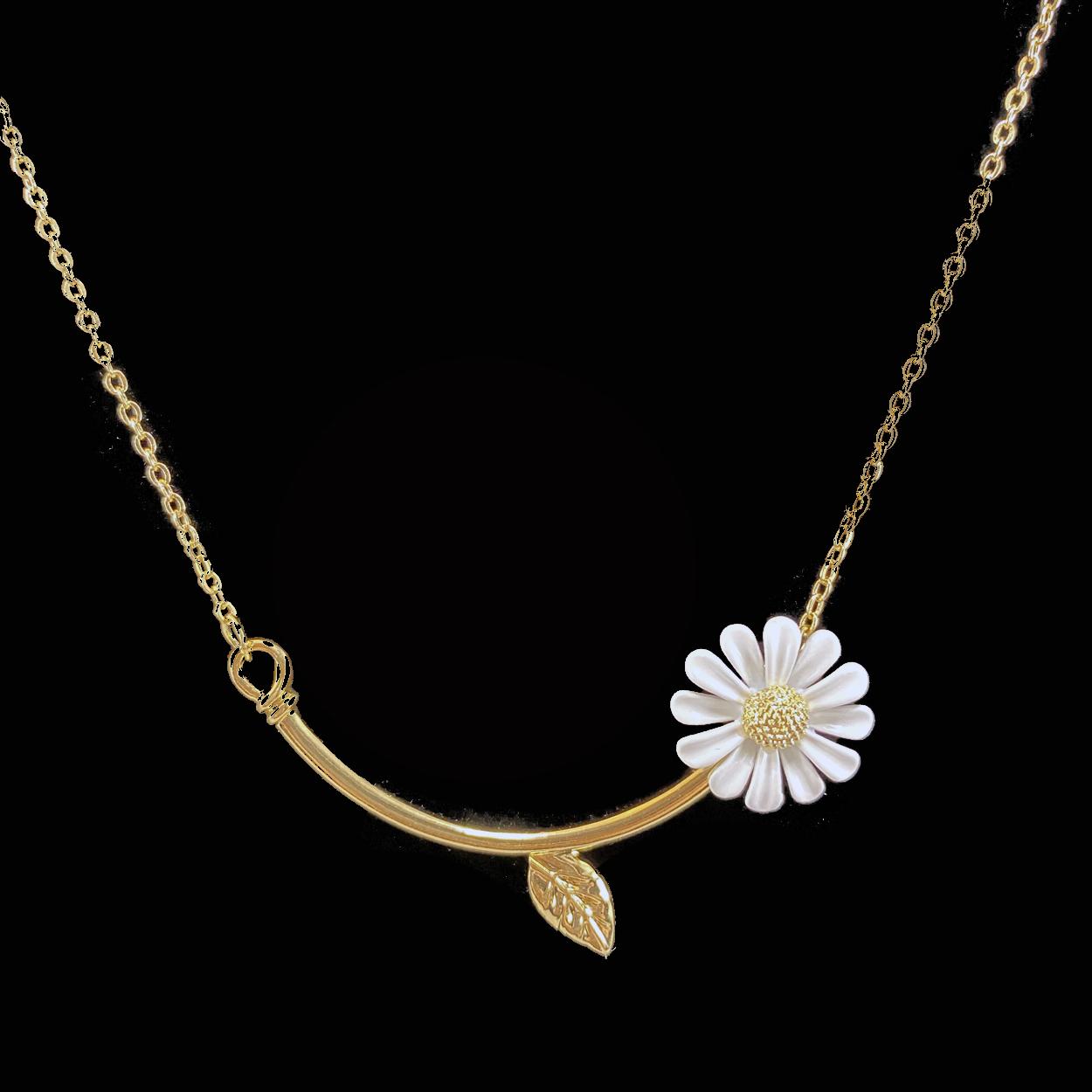Daisy Bar Necklace1