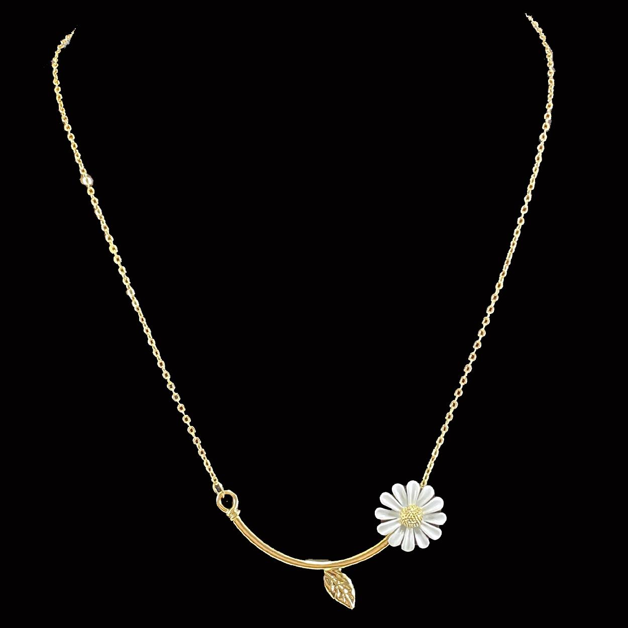 Daisy Bar Necklace2