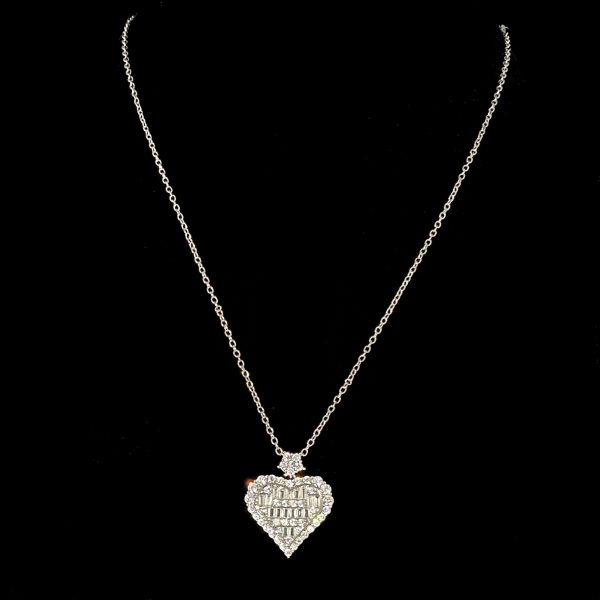 Crystal Heart Princess Necklace