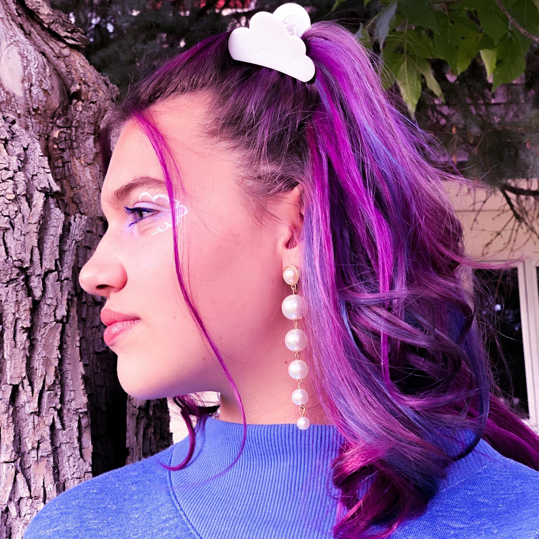 Multi Pearl Drop Earrings2