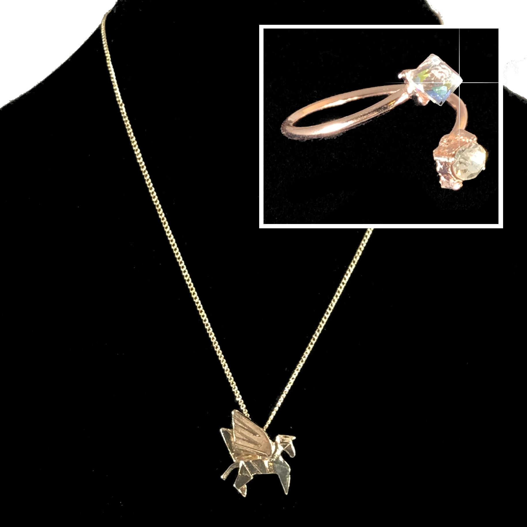 Pegasus Necklace Set