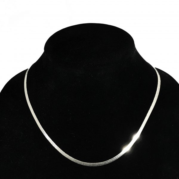 sterling silver necklace, silver necklace, collar necklace, jewelry subscription, subscription box