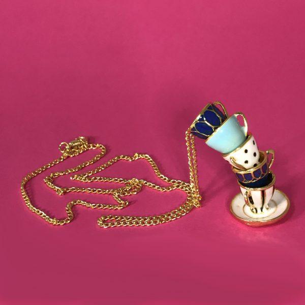 Wonderland Teacup Necklace